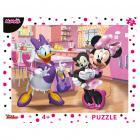 Dino puzzle Walt Disney Růžová Minnie 40 dílků deskové