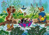 Dino puzzle Krtečkova plavba 100 dílků