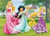 Walt Disney Princezny 24D flor puzzle