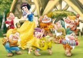 Walt Disney Sněhurka 24D flor puzzle