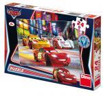 Dino puzzle Walt Disney Cars: Noční závod 24 dílků