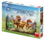 Dino puzzle Walt Disney  Arlo a kamarádi 66 dílků