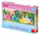 Dino puzzle Walt Disney Princezny na promenádě 150 dílků panoramatické