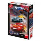 Dino puzzle Walt Disney Cars 3: Vítězné kolo 100 XL neon