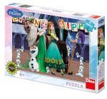 Walt Disney Frozen: narozeniny 300 dílků