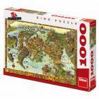 Dino puzzle Atlantida 1000 dílků