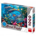 Dino puzzle Mořský svět 1000 dílků secret collection