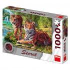 Dino puzzle Tygři 1000 dílků secret collection