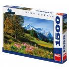 Dino puzzle Bavorské Alpy 1500 dílků