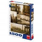 Dino puzzle Den v New Yorku 1500 dílků