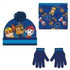 Zimní set-čepice, nákrčník, rukavice Paw Patrol