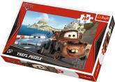 Puzzle 160 - Burák a Finn / Auta 2