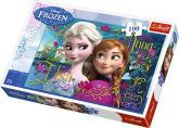 Puzzle 100 - Anna a Elsa / Ledové království