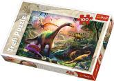Puzzle 100 - Dinosauři