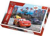 Puzzle 100 - Závod v Londýně / Auta 2