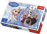 Puzzle 60 - Přátelé / Ledové království