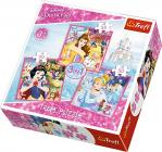 Puzzle 3v1 - Svět princezen / Princezny