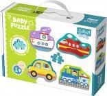 Puzzle Baby Classic -  Dopravní prostředky