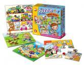 "Efko Soubor puzzle 4v1 ""Můj den"""