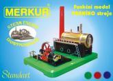 Merkur Parní stroj - funkční model