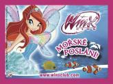 WinX: Mořské poslání - sáček se samolepkami