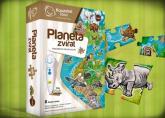 Kouzelné čtení  Puzzle Planeta zvířat