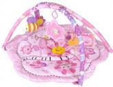 Hrací deka Růžová květinka Sunbaby