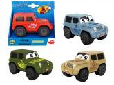 Auto Happy Jeep Wrangler Squeezy 11 cm, 4 druhy