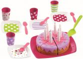 Ecoiffier Narozeninový dort včetně příslušenství