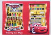 Cars - Kreslící dárkový set 86ks