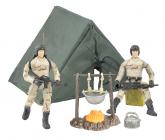 Vojenská sada s figurokou