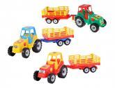 Traktor s vlekem Farmer 58cm