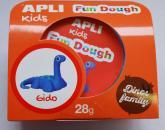 Fun Dough - samotvrdnoucí modelovací hmota Dino baby - Gido, s doplňky, 28 g