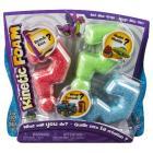 Kinetic Foam - balení se 3 barvami