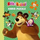 Máša a Medvěd Kniha puzzle 30 dílků