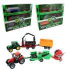 Sada traktory s příslušenstvím