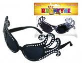 Brýle karnevalové Lady G černé