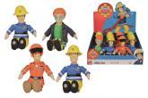 Požárník Sam Plyšová figurka 25 cm, vinylová hlava, 4 druhy, DP12