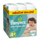 Pampers Active Baby-Dry Vel. 4+