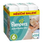 Pampers Active Baby-Dry Vel. 6