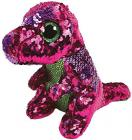 Beanie Boos Flippables STOMPY - pink-green dinosaur 15 cm