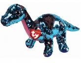 Beanie Boos Flippables TREMOR - pink-aqua dinosaur 15 cm