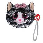 Ty Fashion Sequins peněženka KIKI - kočka 10 cm