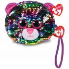 Ty Fashion Sequins peněženka DOTTY - leopard 10 cm