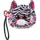 Ty Fashion Sequins peněženka ZOEY - zebra