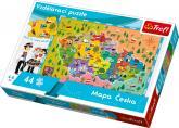Puzzle Mapa Česka