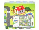 Měkké puzzle - město 32x32 cm