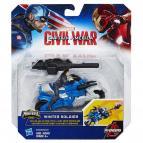 Kapitán Amerika - Figurka s vozidlem, více druhů