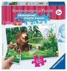 Ravensburger puzzle Máša a Medvěd 12 plastových dílků II