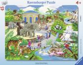 Ravensburger puzzle Návštěva v ZOO, 30-48 dílků